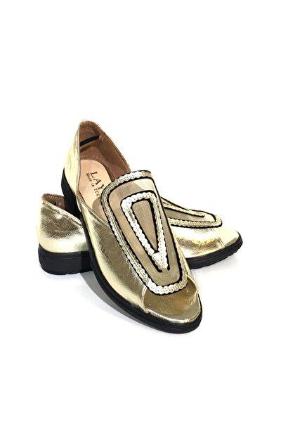 Kadın Altın Casual Ayakkabı