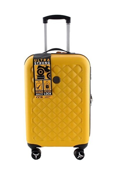 5165 Abs Kabin Boy Valiz Sarı