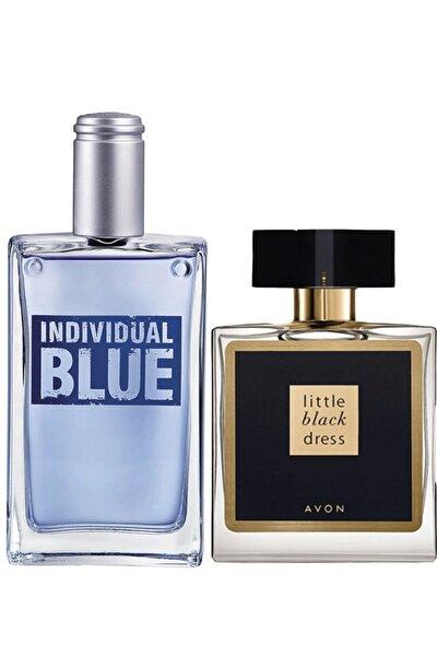 Individual Blue Erkek Edt - Little Black Dress Kadın Edp Parfüm Seti