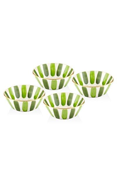 Fez 4lü Kase Seti - 15cm Yeşil
