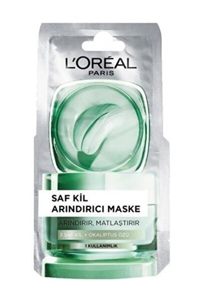 Saf Kil Arındırıcı Maske 6 ml 3600523525904