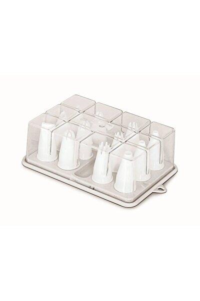 Duy Seti 12 Adet Plastik (krema Sıkma Ucu)
