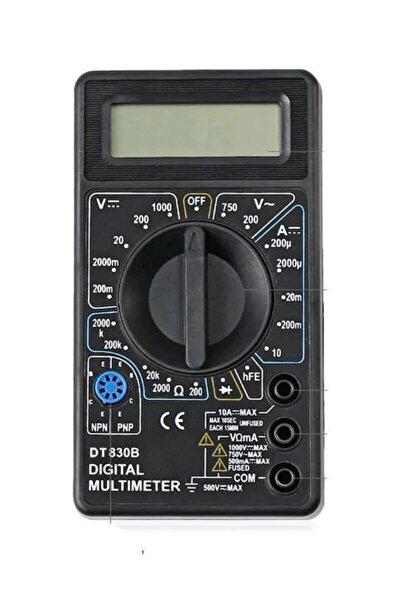 Dt830b Dijital Multimetre Voltmetre Ampermetre