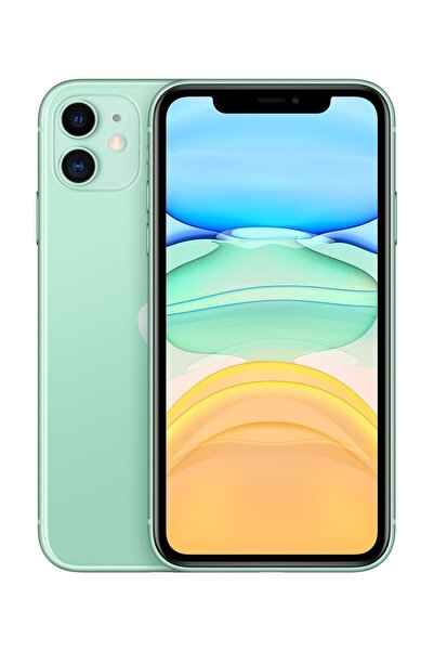 iPhone 11 64GB Yeşil Cep Telefonu (Apple Türkiye Garantili) Aksesuarlı Kutu