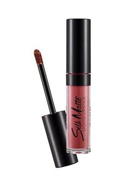 Likit Mat Ruj - Silk Matte Liquid Lipstick Hot Cocoa