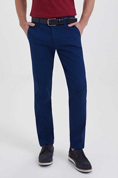 Desenli Regular Lacivert Pantolon 29261018B001