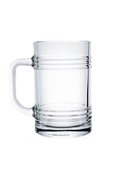 Tin-can Kulplu Bira Bardağı 6 Adet