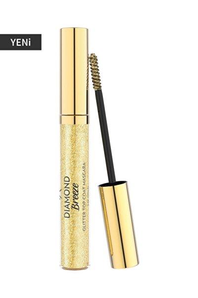 Işıltı Veren Altın Rengi Maskara - Diamond Breeze Topcoat Mascara 24k Gold 8691190965679