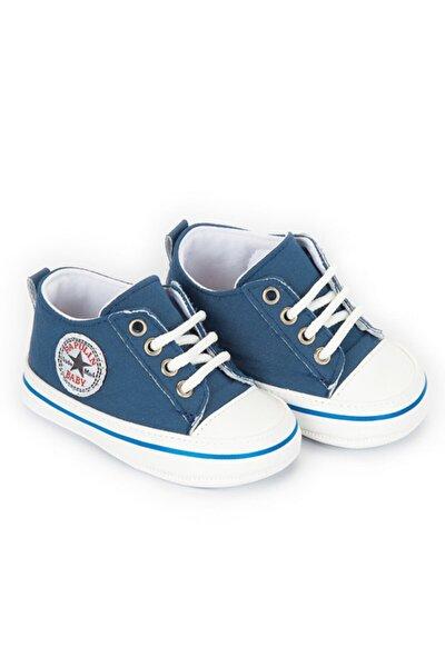 Unisex Bebek Mavi Patik Trend Ayakkabı