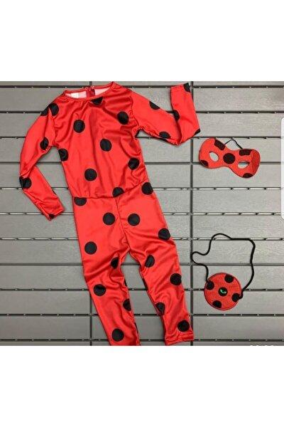 Kız Çocuk Uğur Böceği Kahraman Kostümü