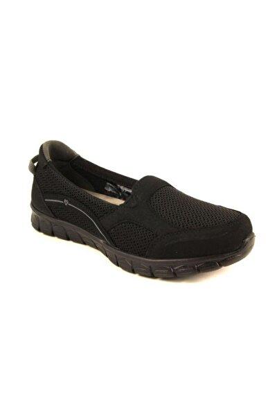 61015 Kadın Siyah Spor Ayakkabı
