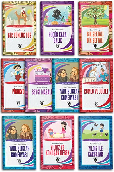 Dünya Çocuk Klasikleri Set-5