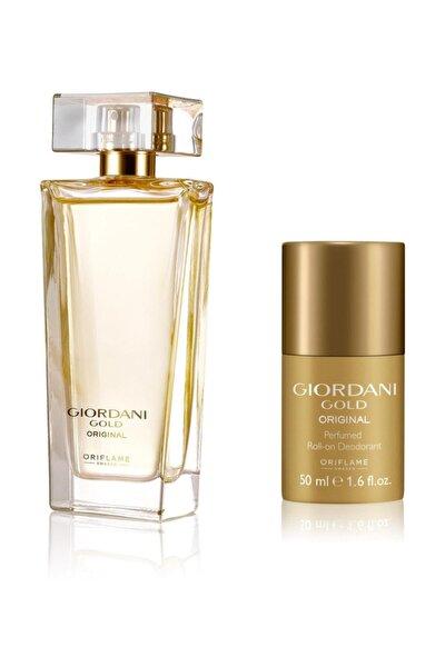 Giordani Gold Original Edp 50 ml Kadın Parfümü + Roll-On Deodorant 5262645956153