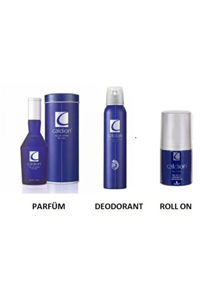 Orıjınal Classıc Men Edt 100 Ml Erkek Parfüm + 150 Ml Deodorant+rollon Üçlü Set