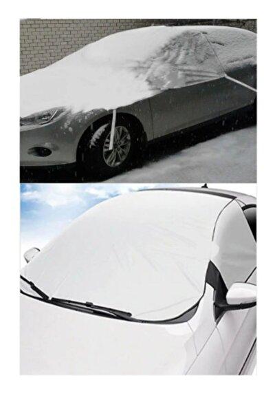 Kar Güneş Koruyucu Güneşlik Buzlanma Önleyici Araba Cam Üstü Su Geçirmez Ön Ve Yan 2 Cam Koruma 3tdr