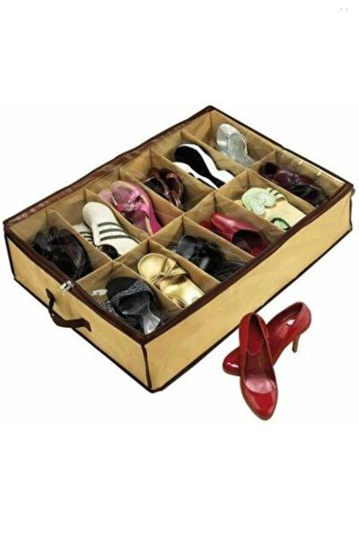 12 Bölmeli Ayakkabı Hurcu