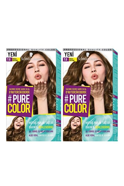 Pure Color7-0 Buzlu Kestane X2