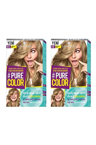 Pure Color 8-0 Vanilyalı Tart X2