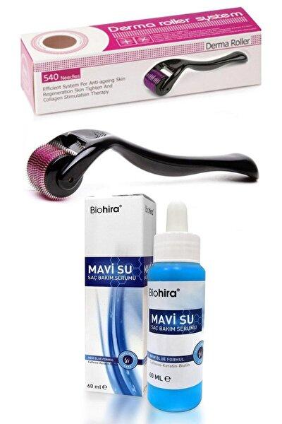 Saç Bakım Serumu 60ml + Dermaroller Saç Çıkarma Tarağı