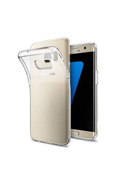Samsung Galaxy S7 Edge Şeffaf Kılıf Süper Silikon Tpu