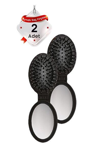 Aynalı Saç Fırçası-2 Adet