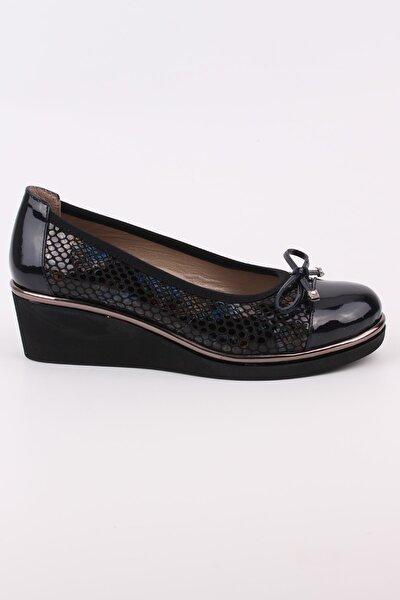 Kadın Ayakkabı Mevsimlik Dolgu Topuk Ayakkabı