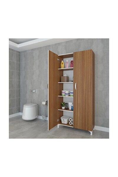 Mutfak Dolabı 168*070*032 Cvz Kapaklı Ayaklı Banyo Evrak Ofis Kitaplık Ayakkabılık Kiler