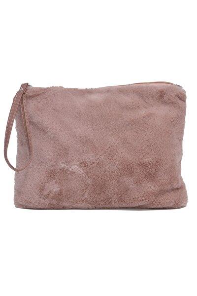Kadın Clutch Çanta Pembe