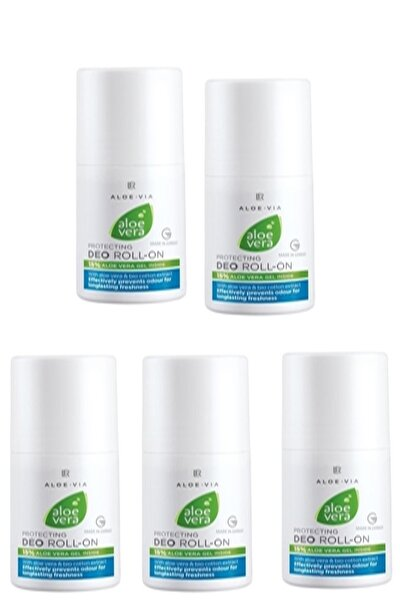 Aloe Vera Deo Roll-on 50ml X 5 Adet