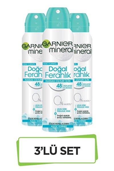 Mineral Doğal Ferahlık Sprey Deodorant 3'lü Set 36005420381573