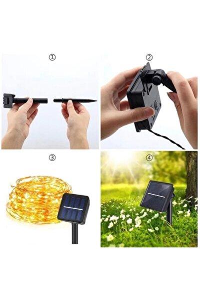 10 Metre Güneş Enerjili Dış Mekan Peri Ip Led Işık Dekoratif Aydınlatma