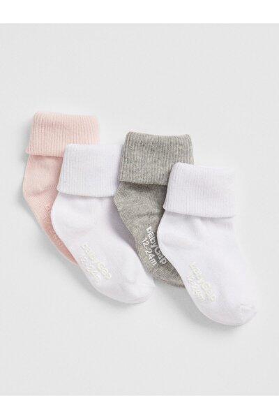 Bebek 4'Lü Çorap Seti
