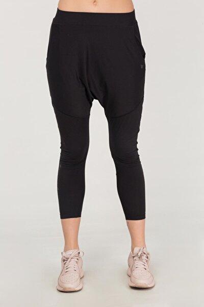 Siyah Yoga Kadın Şalvarı FS-1772