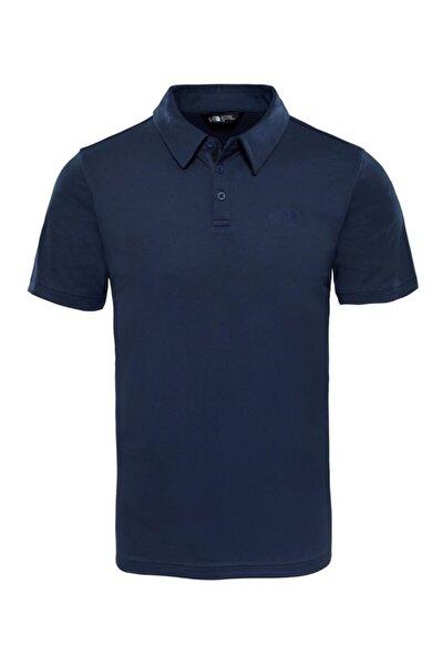 Erkek Lacivert Tanken Polo Yaka T-shirt