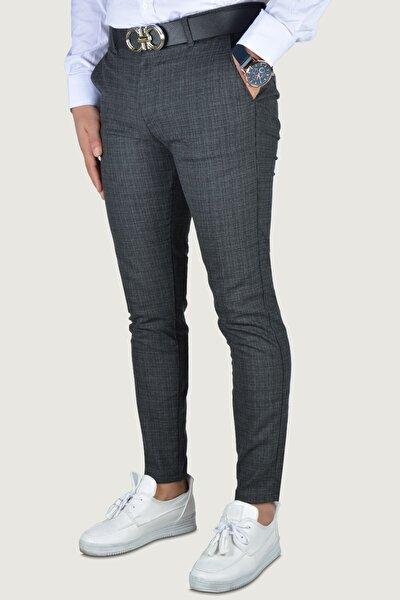 Erkek Füme Keten Pantolon 9k-2200207-020