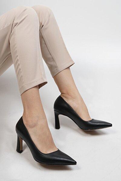 Siyah Kadın Akuna Stiletto Topuklu Ayakkabı 19K0016LR020