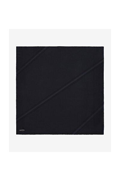 Siyah Swarovski Taşlı Ipek Eşarp 5718716-311