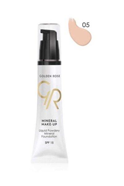 Mineral Make-up 05 Liquid Powdery Foundation 35ml