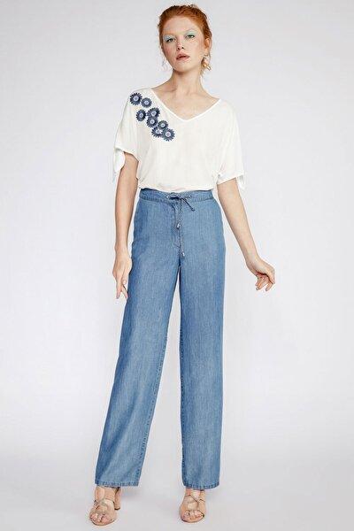 Kadın Mavi Pantolon 91051018
