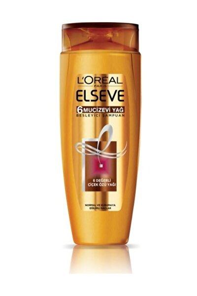 6 Mucizevi Yağ Besleyici Bakım Şampuanı 520 ml