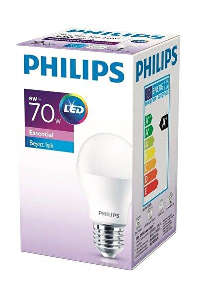 Essential Led Ampul 8.5w 60w E27 Normal Duylu Beyaz Işık Led Ampul