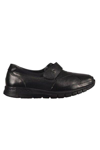 29445 Kadın Siyah Deri Kemik Çıkıntısına Özel Ayakkabı