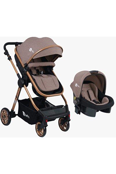 Kahverengi Comfort Travel Sistem Bebek Arabası Ve Puset