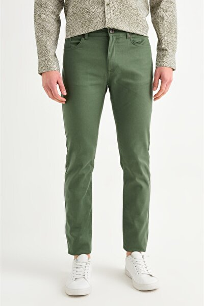 5 Cepli Basic Slim Fit Pantolon