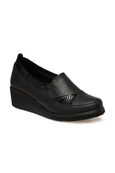 161393.z Siyah Kadın Comfort Ayakkabı