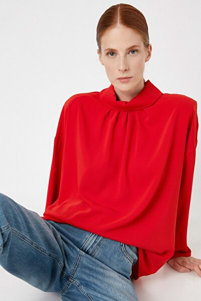 Kadın Kırmızı Bluz 1KAK68166PW