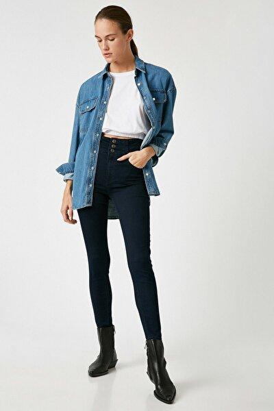 Kadın Dark İndigo Jeans 1KAK47062MD
