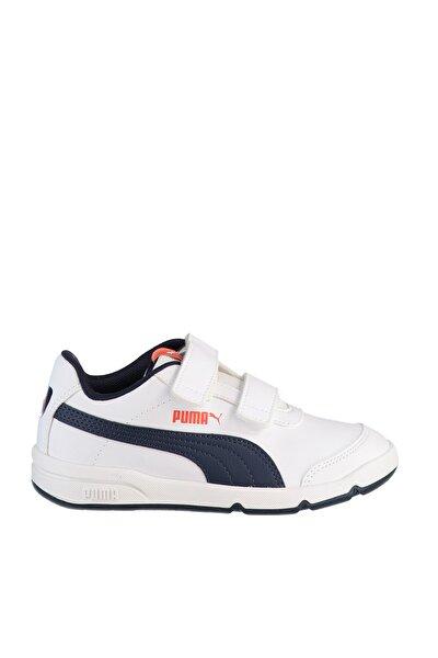 STEPFLEEX 2 SL VE V PS PU Beyaz Erkek Çocuk Koşu Ayakkabısı 100662722