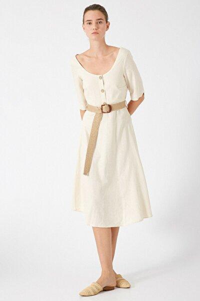 Kadın Bej Elbise 0YAK88050PW