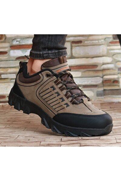 Erkek Kahverengi Su ve Soğuğa Dayanıklı Kışlık Ayakkabı Bot